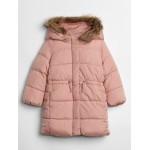Print Long Warmest Jacket