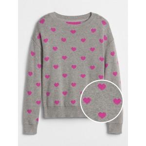 Hearts Crewneck Sweater