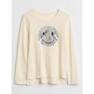 Flippy Sequin Graphic T-Shirt