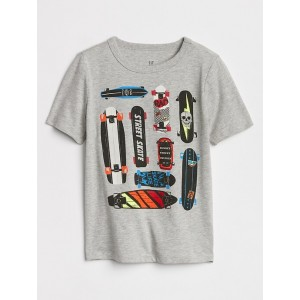 Short Sleeve Graphic T-Shirt in Jersey