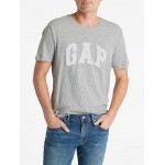 Arch Logo T-Shirt in Slub  <font color=blue>GAP 로고 흰색으로 변경</font>