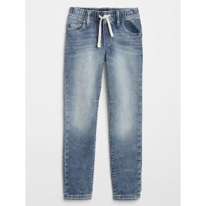 Kids Superdenim Pull-On Slim Jeans with Fantastiflex