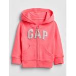 Arch logo zip hoodie