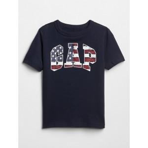 Kids Short Sleeve Gap Logo Americana T-Shirt