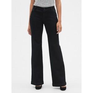 Mid Rise Wide-Leg Jeans