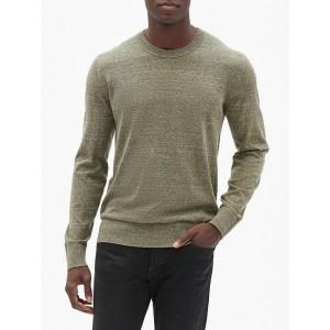 Crewneck Sweater in Cotton Blend