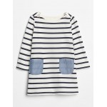 Baby Stripe Two-Pocket Dress