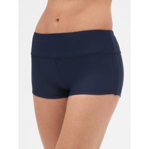 Side-Cinch Swim Shorts