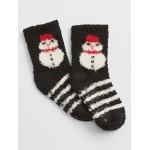 Cozy Snowman Socks