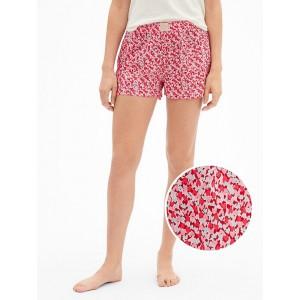 2.5&#34 Print Shorts in Poplin