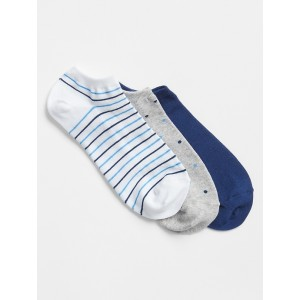 Print Ankle Socks (3-Pack)