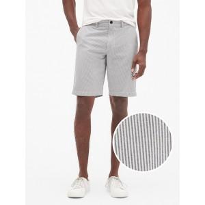 10&#34 Stripe Shorts in Weave