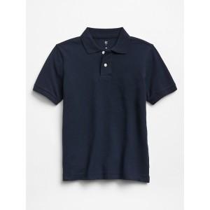 Kids Short Sleeve Pique Polo
