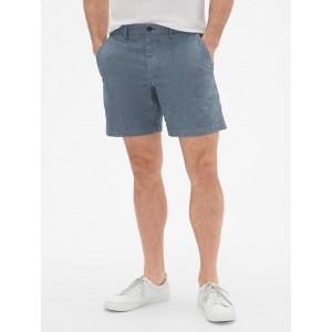 7&#34 Chambray Shorts