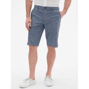 12&#34 Chambray Shorts