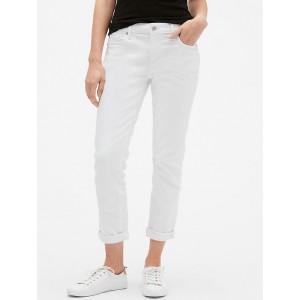 Mid Rise Sexy Boyfriend Jeans in Stretch