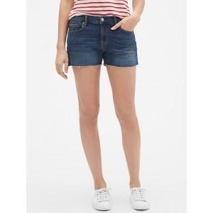 Mid Rise 3&#34 Denim Shorts