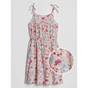 Kids Floral Bow Dress