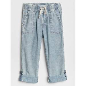 Toddler Chambray Pull-On Pants in Slim Fit