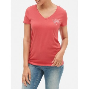 Gap Logo Graphic T-Shirt in Cotton Modal