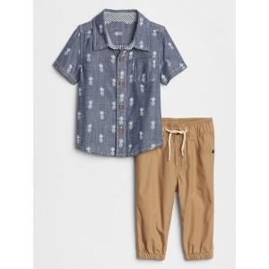 Baby Shirt & Joggers Set