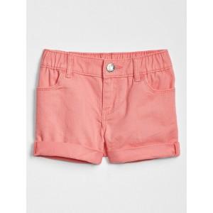Toddler Cuffed Denim Shorts