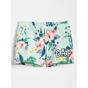 Kids Gap Logo Print Shorts