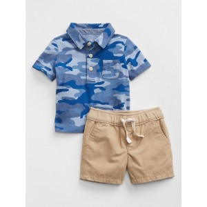 Baby Polo & Shirt Outfit Set