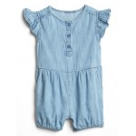 Chambray Flutter One-Piece