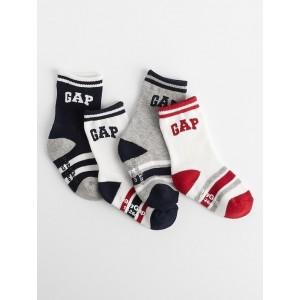 babyGap Logo Socks (4-Pack)