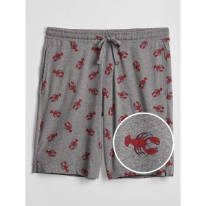 Prints Shorts in Jersey