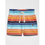 Baby Print Pull-On Shorts