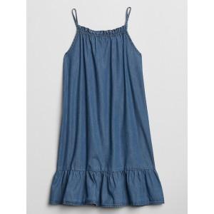 Kids Ruffle Trapeze Dress