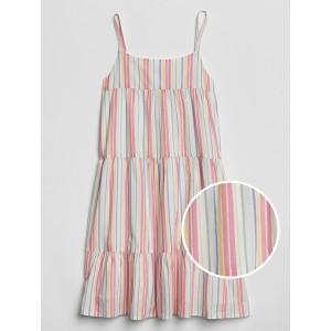 Kids Print Tiered Dress