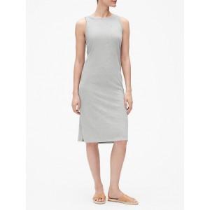 Slub Tank Midi Dress