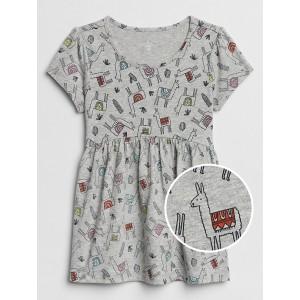 Toddler Shirred Tunic Top
