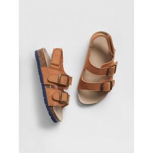 babyGap Faux-Leather Cork Sandals