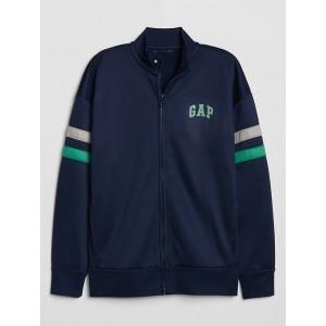 Kids GapFit Varsity Stripe Jacket