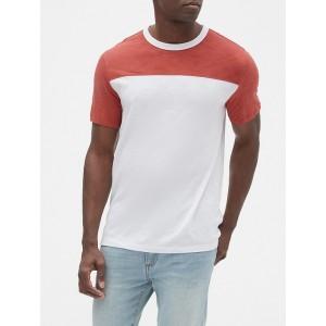 Slub Jersey Colorblock T-Shirt