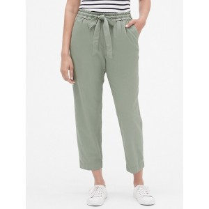 Mid Rise Ankle Pants