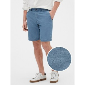 "10"" Shorts in Chambray"