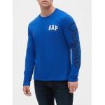 Gap Logo Long Sleeve T-Shirt In Jersey