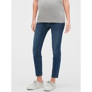 Maternity Inset Panel Legging Skimmer Jeans
