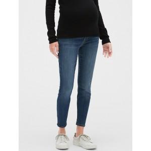 Maternity Demi Panel Legging Skimmer Jeans
