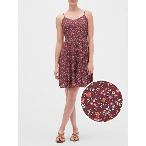 Print Fit & Flare Cami Dress