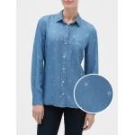 Long Sleeve Print Shirt in TENCEL™