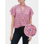 Flutter Short Sleeve Top