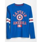 GapKids | Marvel™ Long Sleeve Graphic T-Shirt