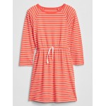 Kids Stripe Long Sleeve Dress