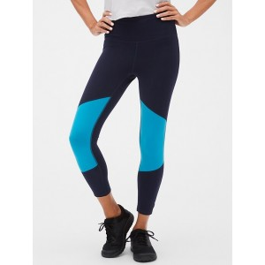 GapFit Sport Compression Colorblock 7/8 Leggings